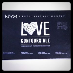 NYX Love Contours all palette
